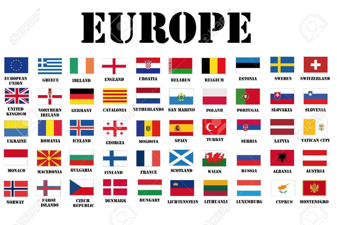 самом флаги всех европейских государств в картинках цифровых механических