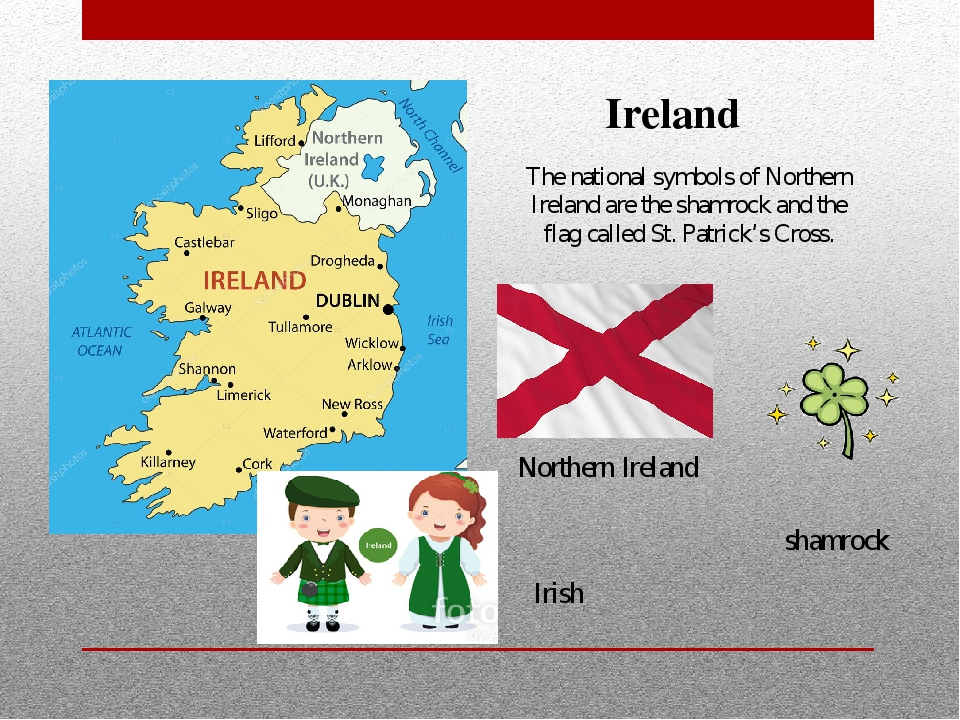 The national symbols of Northern Ireland are the shamrock and the flag called...